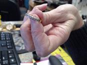 Lady's Gold-Diamond Ring Guard 10 Diamonds .50 Carat T.W. 14K Yellow Gold